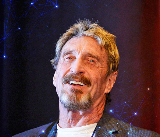 John McAfee to Launch Untraceable Ghost Cell phone Data Service along with other Products
